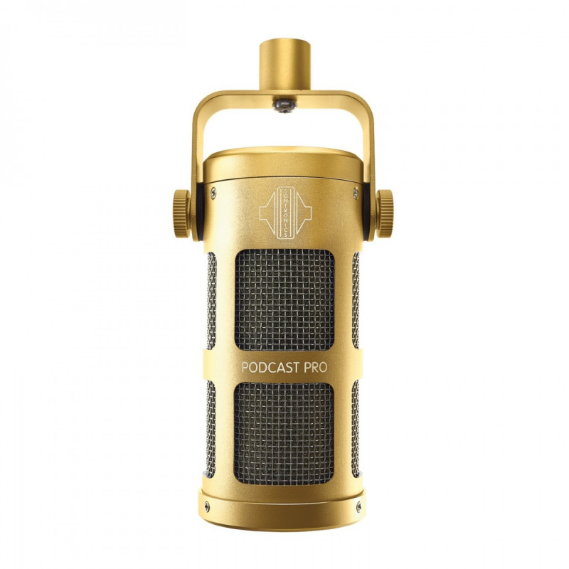 Mikrofony - Sontronics Podcast Pro Gold - Mikrofon dynamiczny do podcastów
